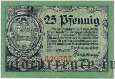 Прюм (Prüm), 25 пфеннингов 1920 года